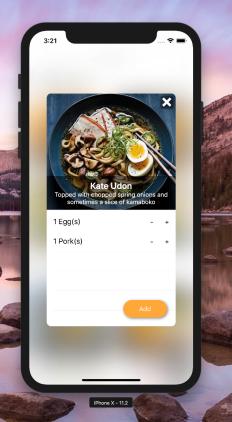 Restaurant App – Swift 4, MVVM Architecture, Reactive Swift